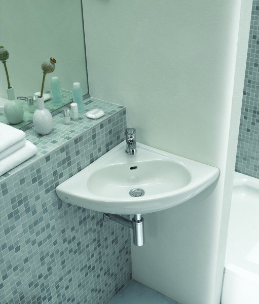 Lave-mains d'angle ARKITEKT VitrA salle de bains