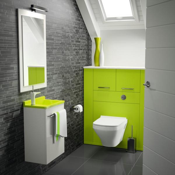 Lavabo lave-mains sur meuble MAMBO d'Ambiance Bain