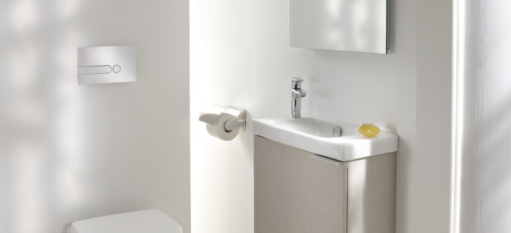 Lavabo Lave Mains Sur Meuble Odeon Up De Jacob Delafon Salle De
