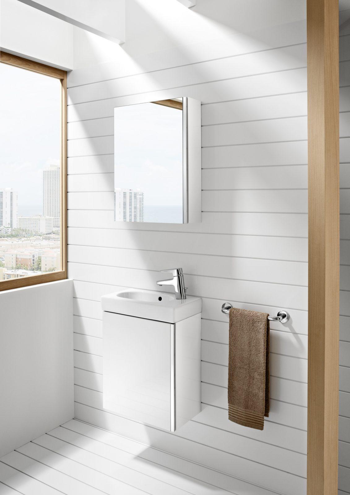 Lavabos lave main dans la salle de bain fiche produit for Mini lavabo salle de bain
