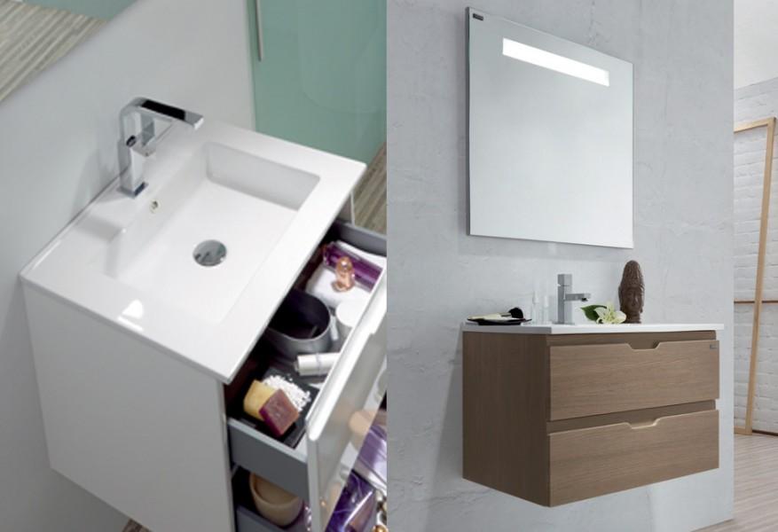 Lavabo plan de toilette à poser pour salle de bains ALLEGRO d'Allibert