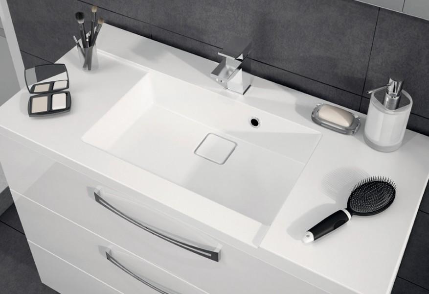 Lavabo plan de toilette à poser pour salle de bains BROOKLYN d'Aquarine