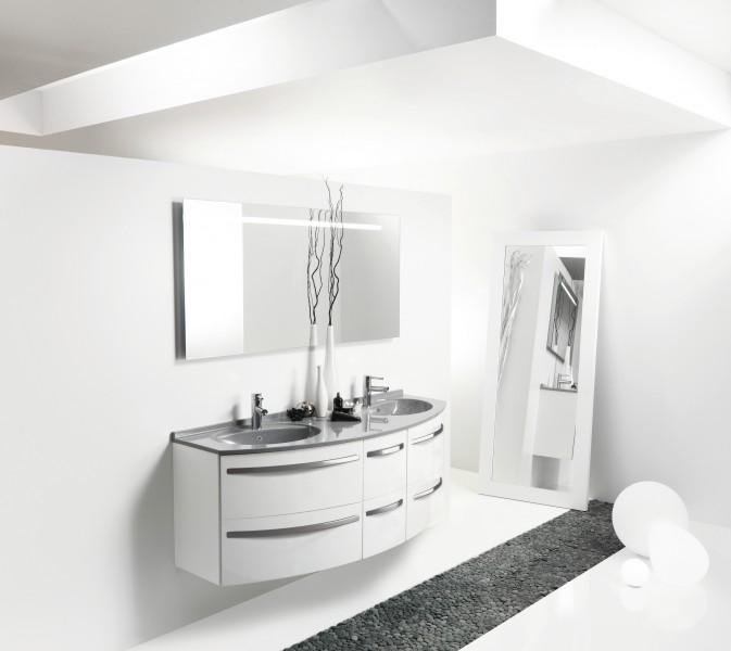 Mobilier gain de place pour salle de bains OMEGA d'Ambiance Bain