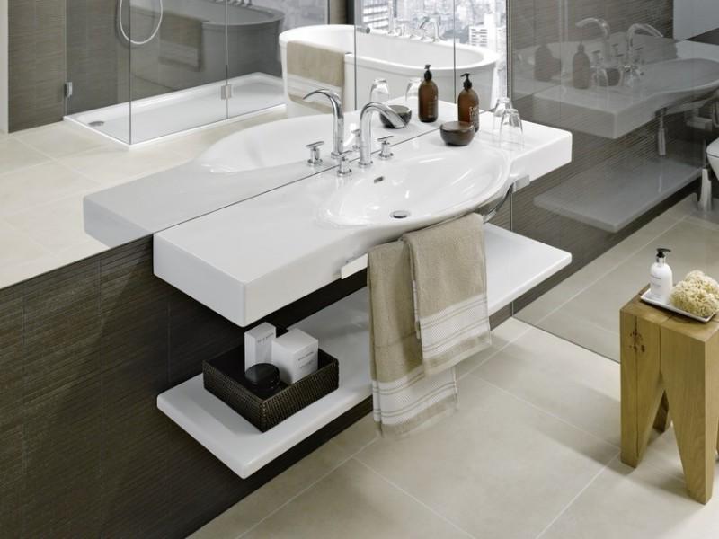 Lavabo plan de toilette autoportant pour salle de bains PALACE de Laufen