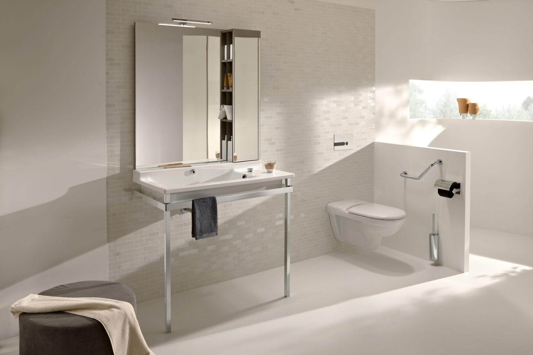 Lavabos plans de toilette de salle de bain fiche produit - Plan de toilettes seches ...