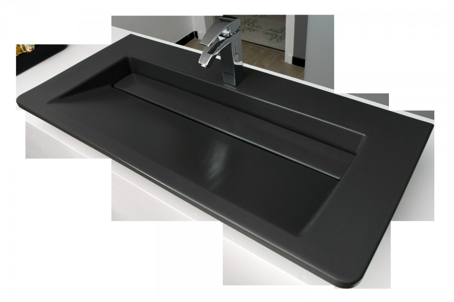 Plan de toilette accessible pour salle de bains SOURCE d'Alape