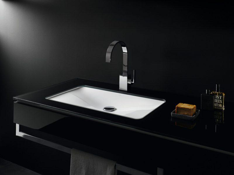 Vasque à encastrer par-dessous pour salle de bains TANGENS d'Alape