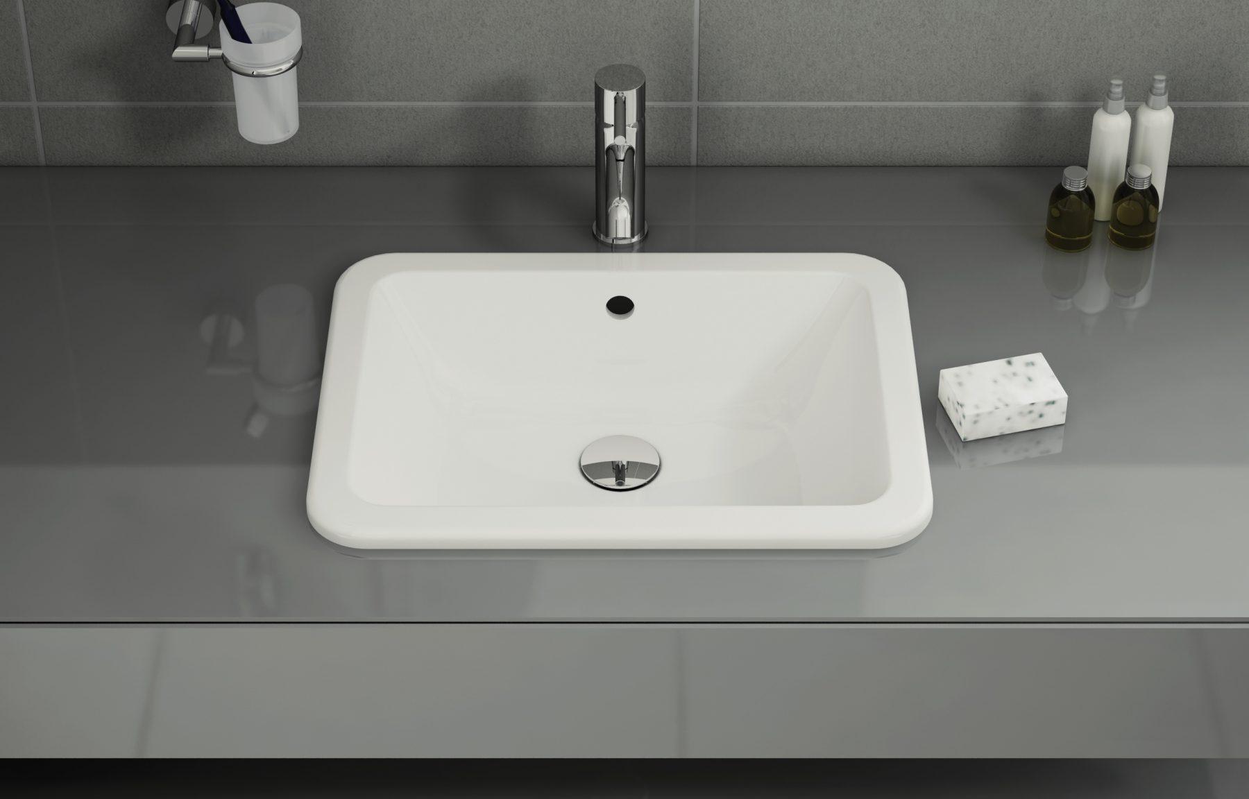 vasques encastrer par dessus fiche produit. Black Bedroom Furniture Sets. Home Design Ideas