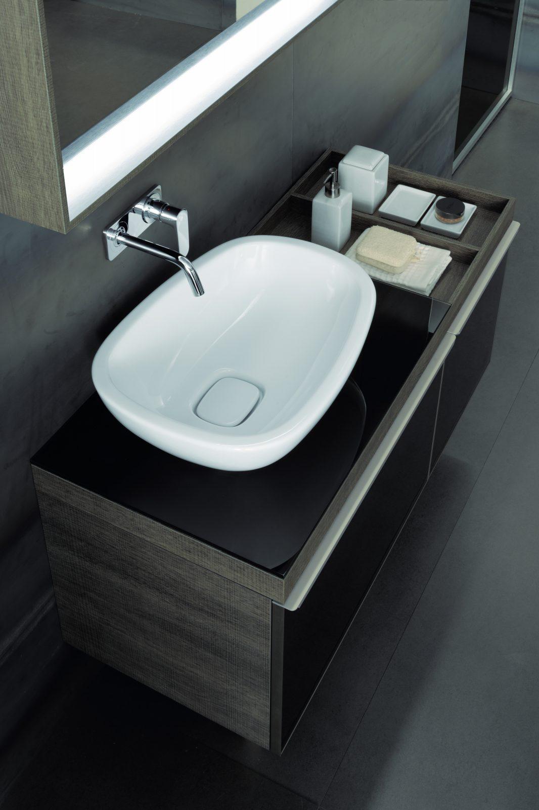 Vasques poser dans la salle de bains fiche produit for Vasque a poser allia