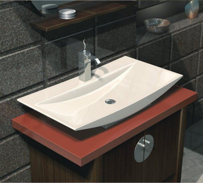 Vasque à poser pour salle de bains DIVA d'Alape