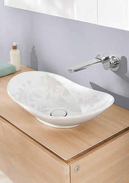 Vasque à poser pour salle de bains MY NATURE de Villeroy & Boch