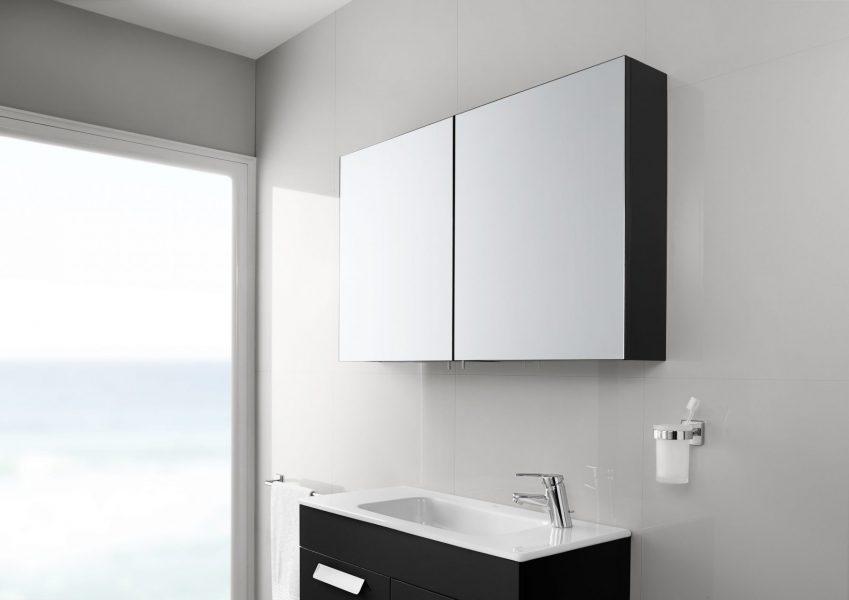 Armoire miroir de salle de bains LUNA de Roca