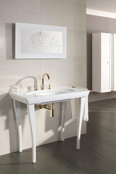 Piétement de plan de toilette de salle de bains LA BELLE de Villeroy & Boch