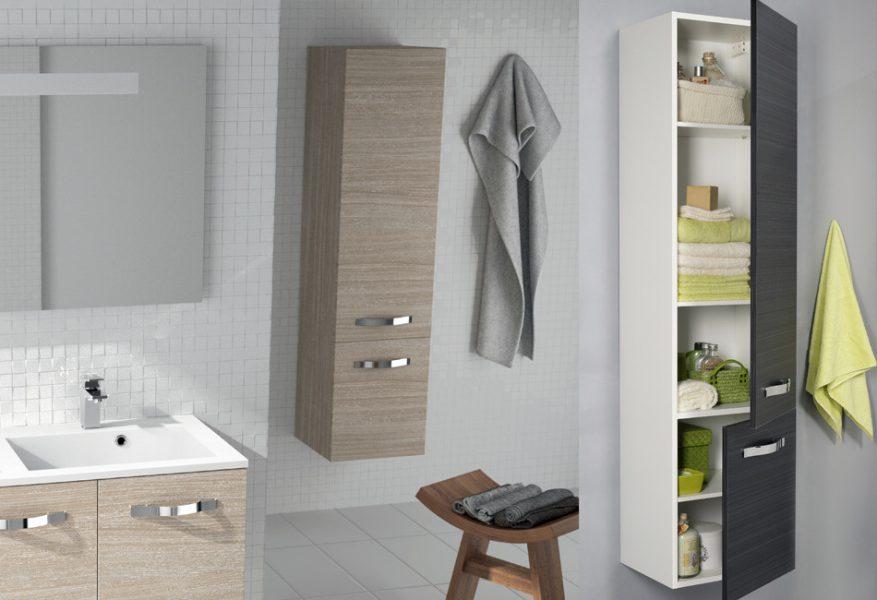 Meuble colonne de salle de bains NESS d'Allibert