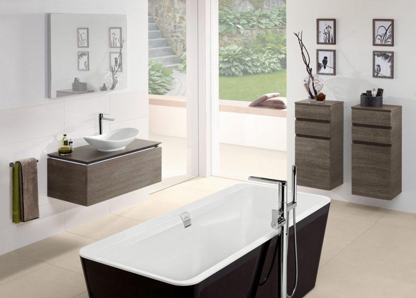 Meuble colonne de salle de bains LEGATO de Villeroy & Boch
