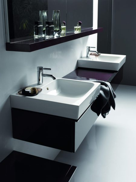 Etagère tablette de salle de bains LOVELY d'Allia
