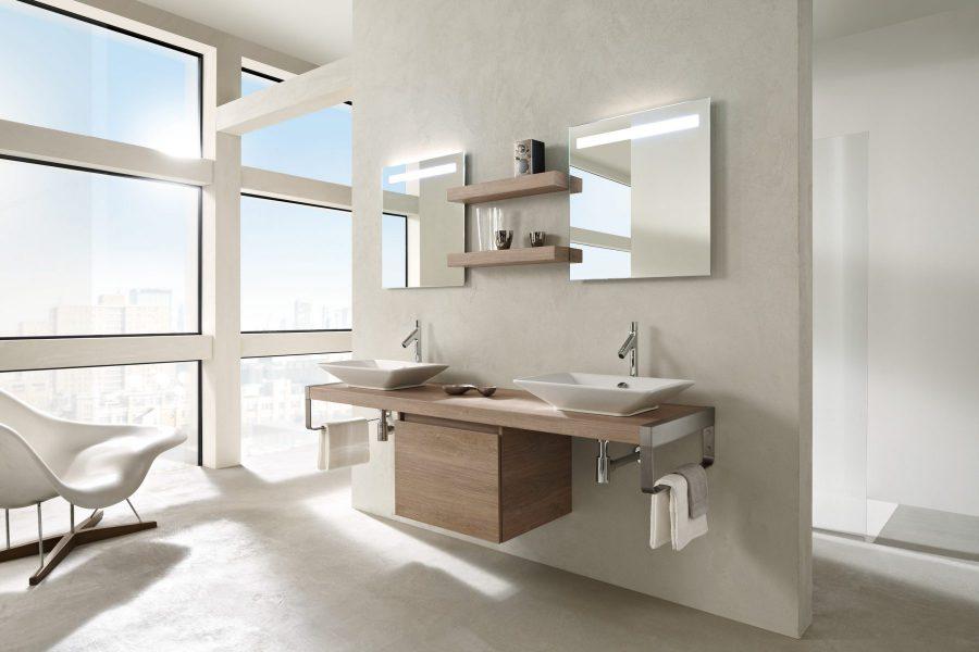Etagères-tablettes de salle de bains PARALLEL de Jacob Delafon