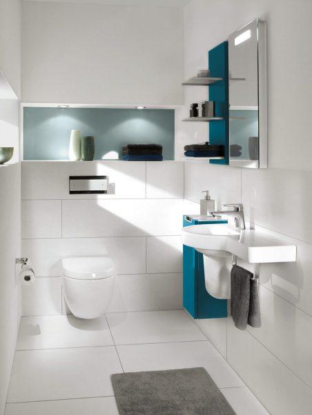 Etagère-tablette de salle de bains SUBWAY 2.0 de Villeroy & Boch