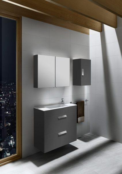 Mobilier de salle de bain faible profondeur DEBBA COMPACT de Roca
