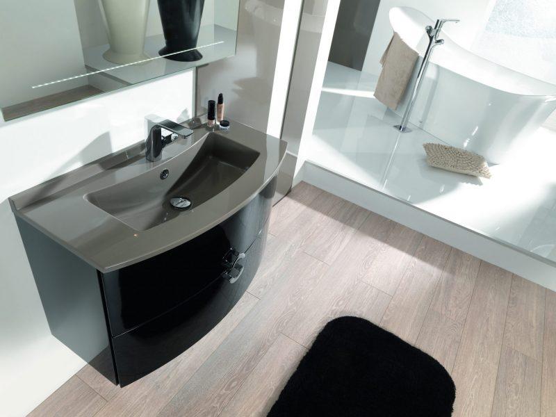 Tous les meubles pour gain de place courbe - Gain de place salle de bain ...