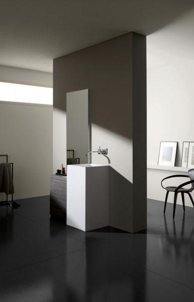 Mobilier au sol de salle de bains A SYSTEM ADDIT d'Alape