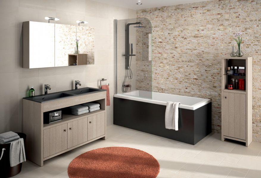 Mobilier au sol de salle de bains MILFORD d'Aquarine