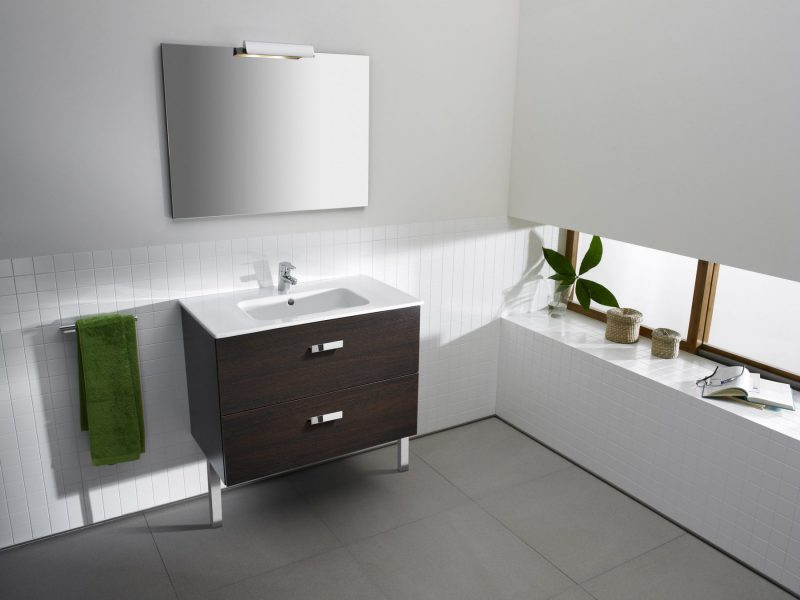 Mobilier au sol de salle de bains VICTORIA de Roca