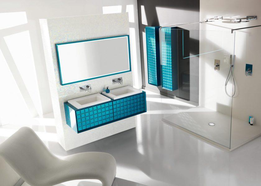 Mobilier double de salle de bains PLAZZA d'Ambiance Bain