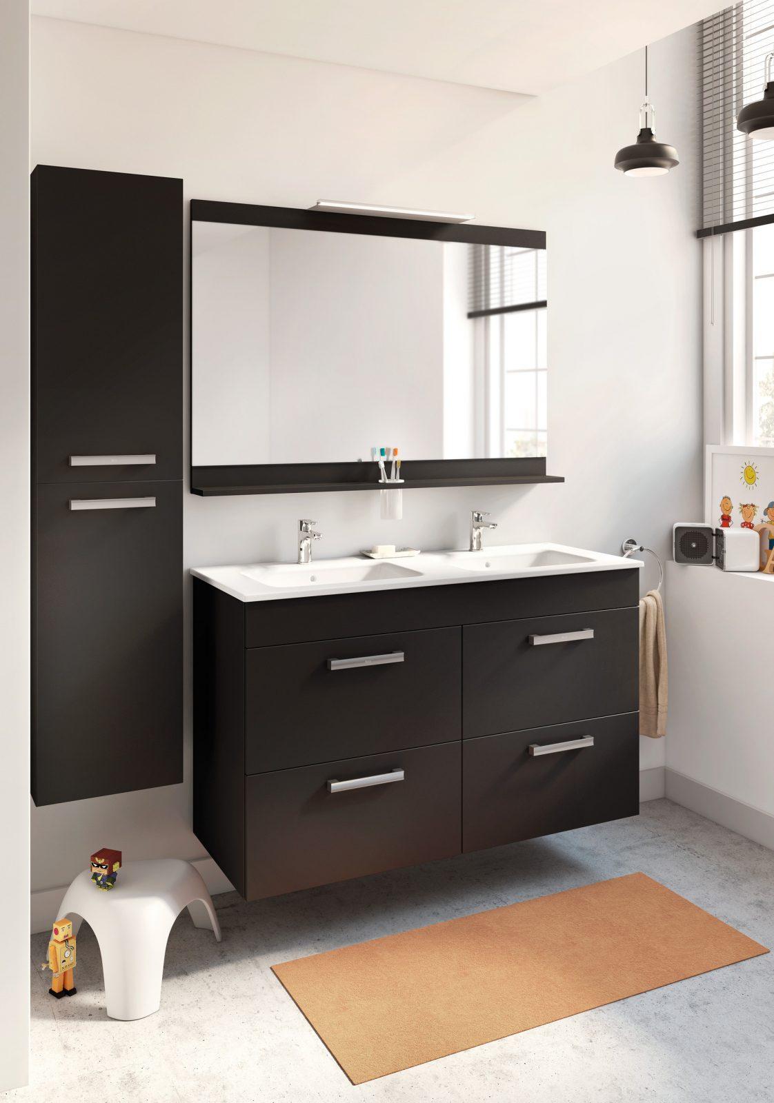 Salle De Bain Azurlign ~ le meuble double de salle de bain fiche produit salledebains fr