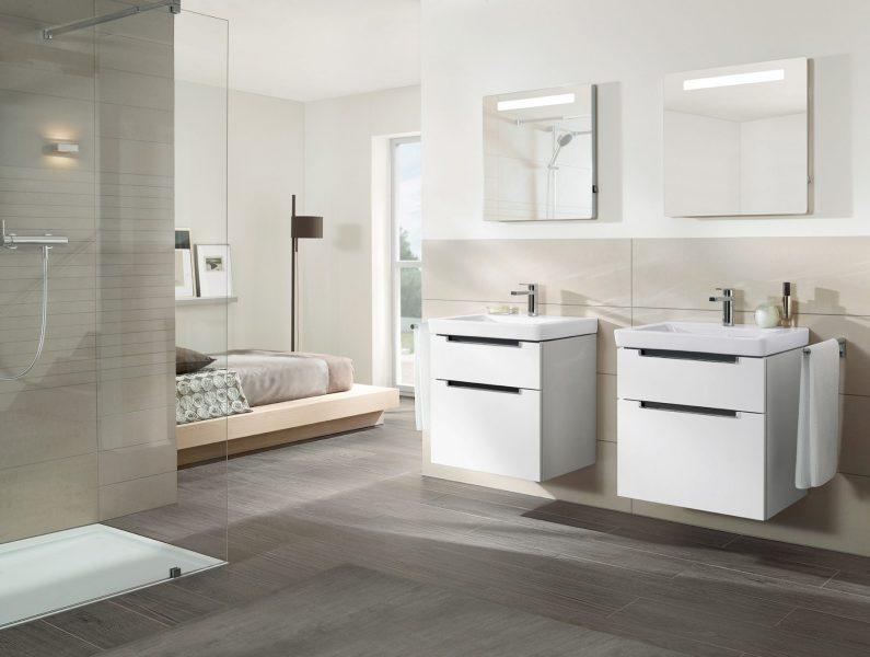 Mobilier double de salle de bains SUBWAY 2.0 de Villeroy & Boch