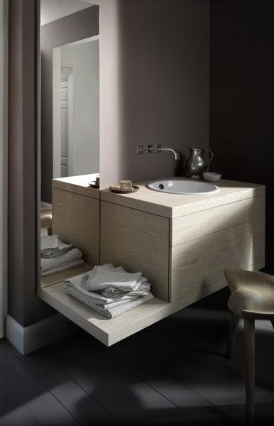 Mobilier de salle de bains suspendu A SYSTEM INIT d'Alape