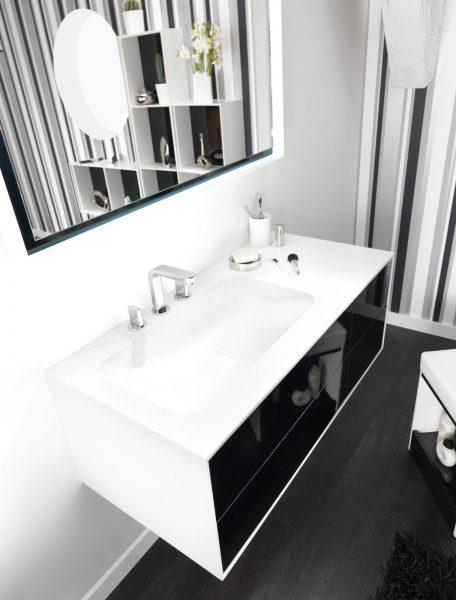 Mobilier de salle de bains suspendu KITOI d'Ambiance Bain