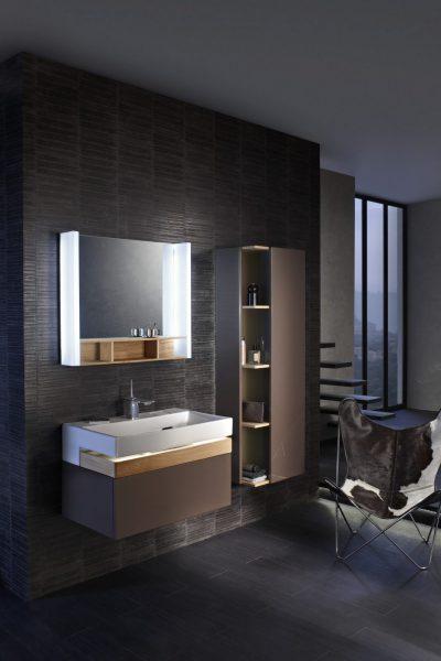 Mobilier de salle de bains suspendu TERRACE de Jacob Delafon