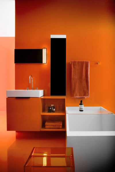 Mobilier de salle de bains suspendu KARTELL BY LAUFEN