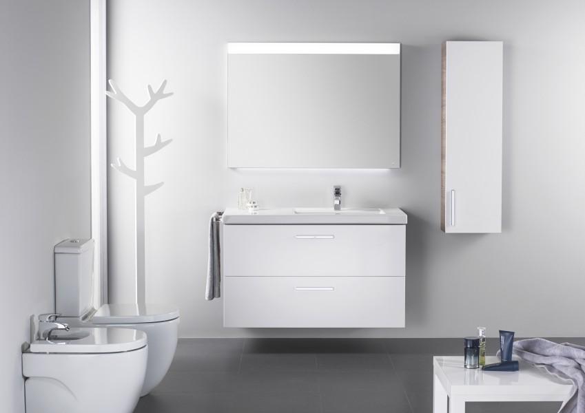 Mobilier de salle de bains suspendu PRISMA de Roca
