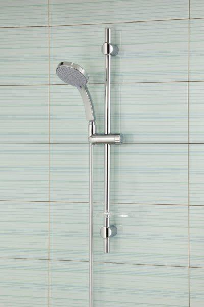 Barre de douche avec robinetterie hydro CITRUS de Jacob Delafon