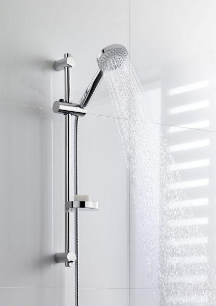 Barre de douche avec robinetterie hydro STELLA de Roca