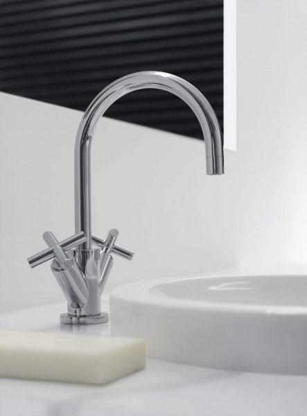 Robinet mélangeur mono-trou pour salle de bains TARA de Dornbracht