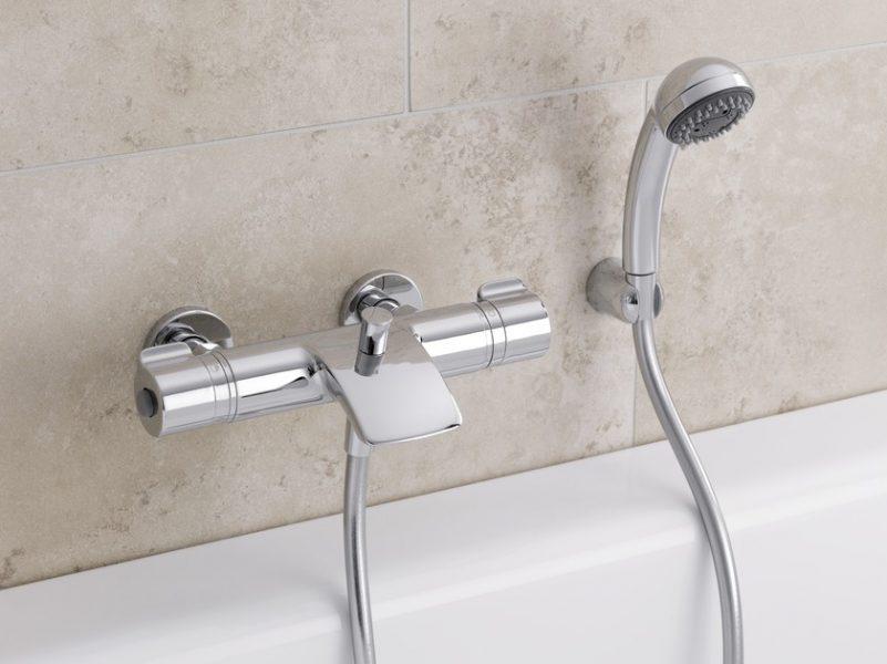 Robinets mitigeurs thermostatiques de baignoire CURVEPRIME de Laufen