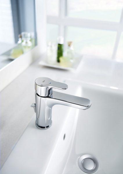 Mitigeur lavabo ouverture à froid L20 de Roca