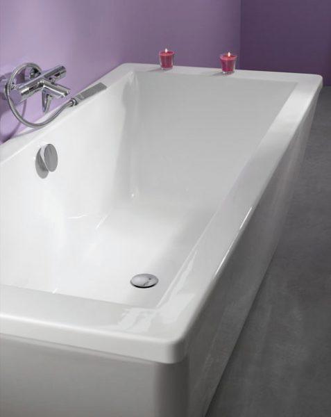 Système de vidage pour baignoire de Wirquin Pro salle de bains
