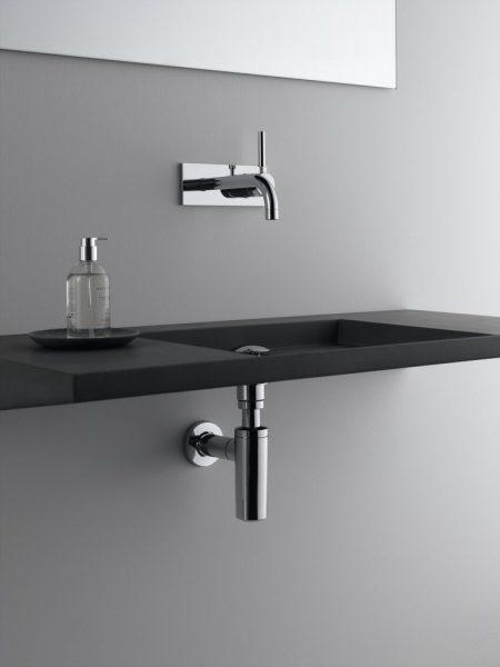 Système de vidage pour lavabo UNIFLEX de Geberit salle de bains