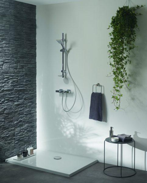 Système de vidage pour receveur de douche SLIM de Wirquin Pro