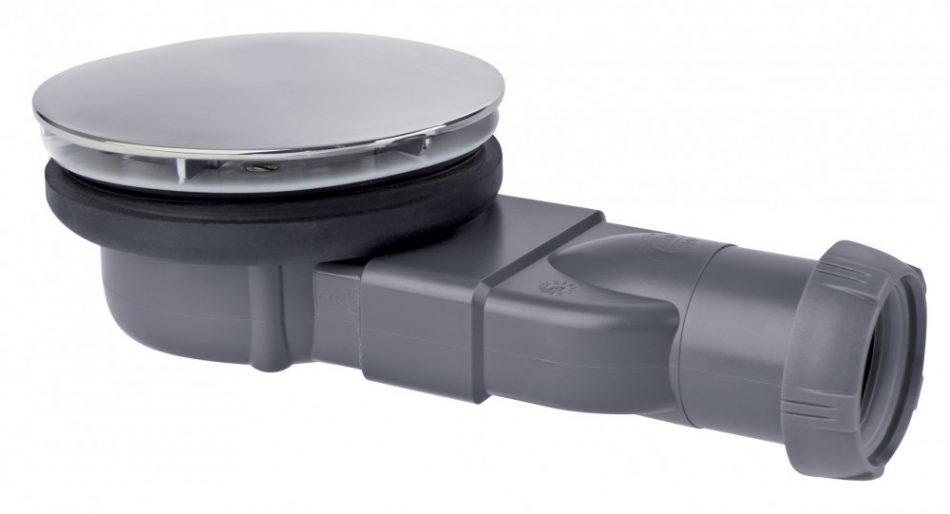 Système de vidage pour receveur de douche SLIM PACKSHOT de Wirquin Pro