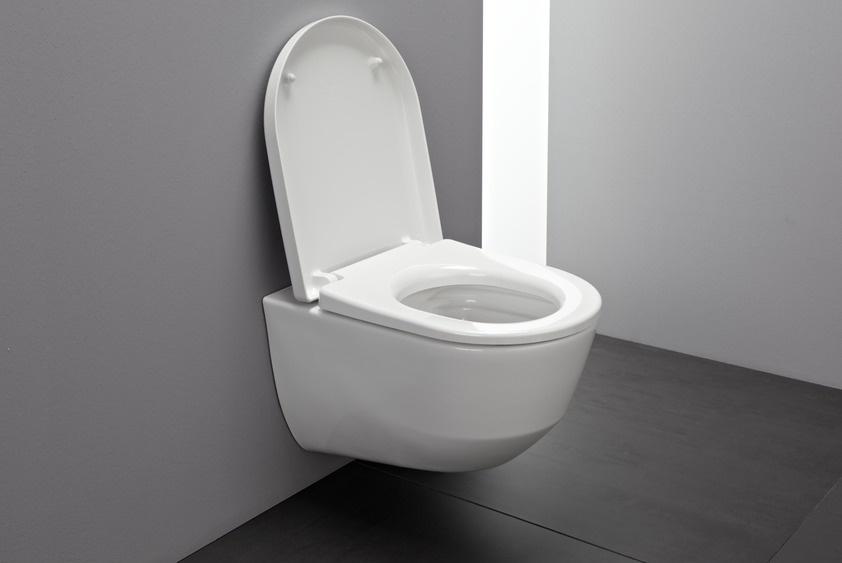 Abattant wc avec frein de chute laufen salle de bains - Abattant wc avec frein de chute ...
