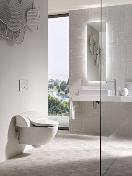Abattant WC lavant AQUACLEAN de Geberit