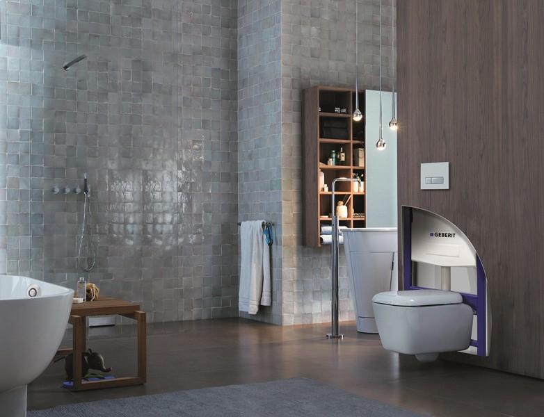 Bâti-support autoportant pour WC DUOFIX de Geberit salle de bains
