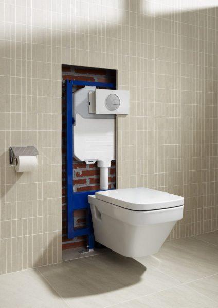 Bâti-supports muraux pour WC DUPLO de Roca