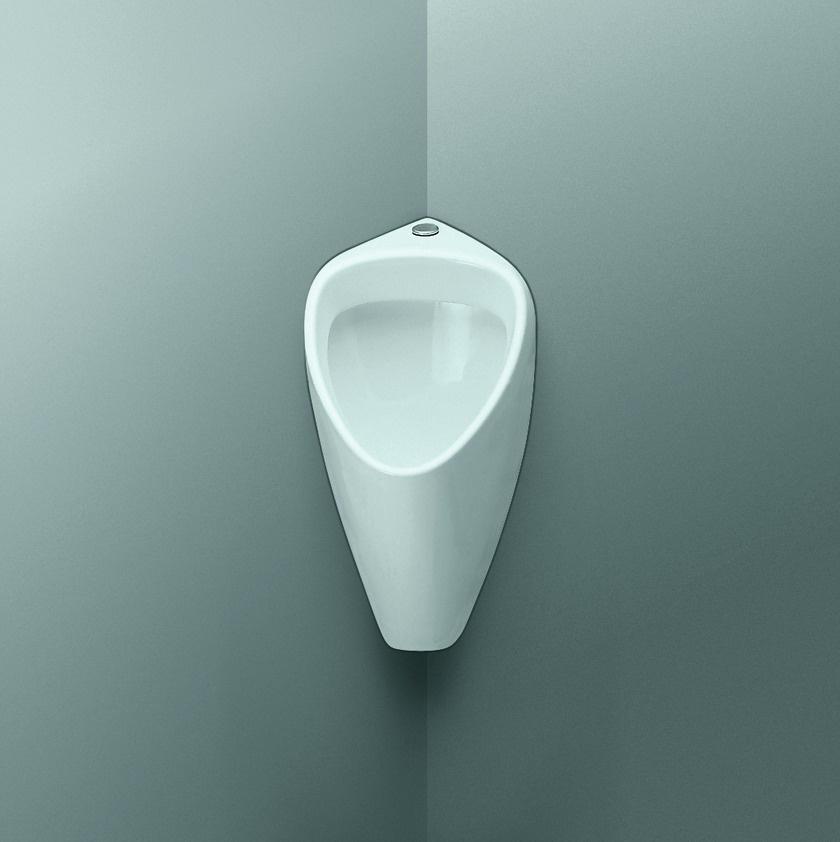 fiche produit de la salle de bains urinoir d 39 angle. Black Bedroom Furniture Sets. Home Design Ideas