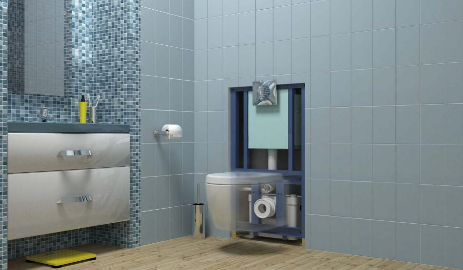 fiche produit sdb les b ti supports avec broyeur int gr. Black Bedroom Furniture Sets. Home Design Ideas